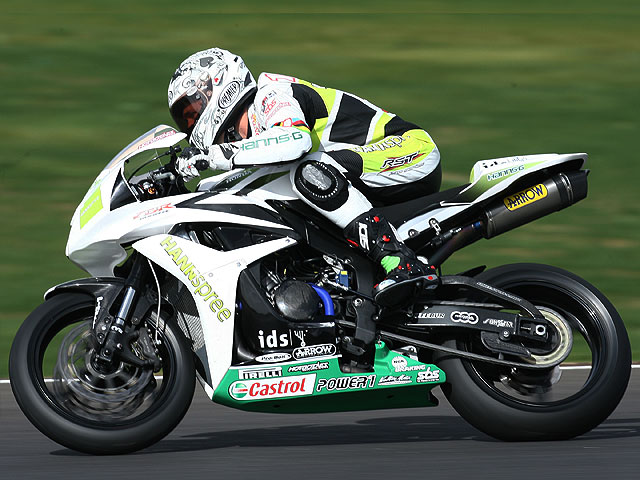 Honda Ten Kate marca el ritmo en Supersport
