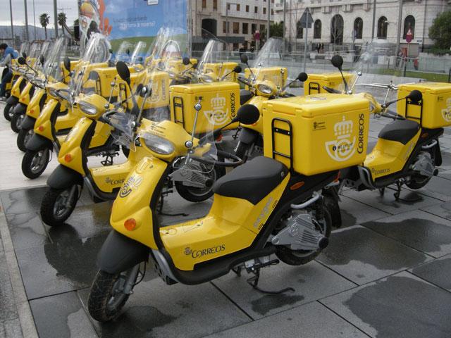 Las motos de Correos en Cantabria serán eléctricas