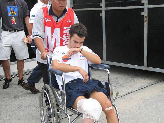Pedrosa duda para el GP de Malasia