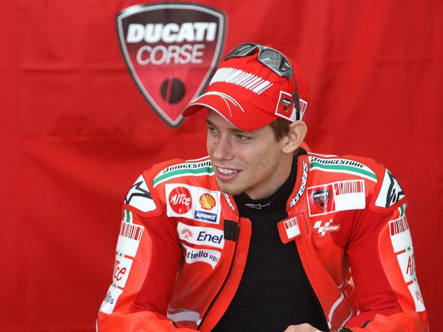 """Casey Stoner (Ducati): """"Las perspectivas son alentadoras"""""""
