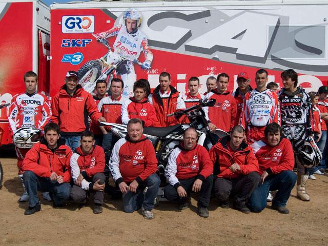Equipo Gas Gas de Enduro 2009
