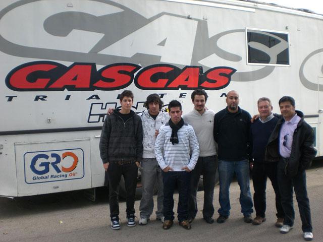 Equipo Gas Gas de Supermotard 2009, la novedad