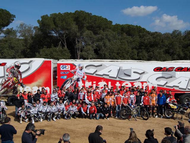 Gas Gas presenta sus equipos off-road 2009