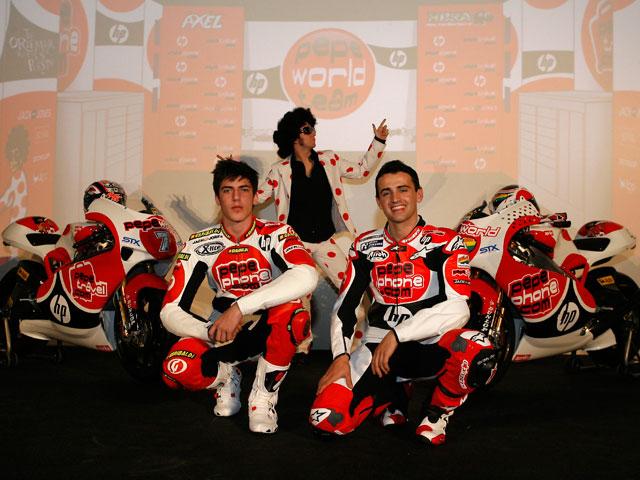 Presentación del Pepe World Team de Sito Pons