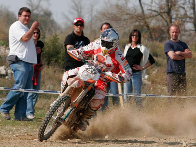 Iván Cervantes (KTM) se lleva la primera del Campeonato de España de Enduro