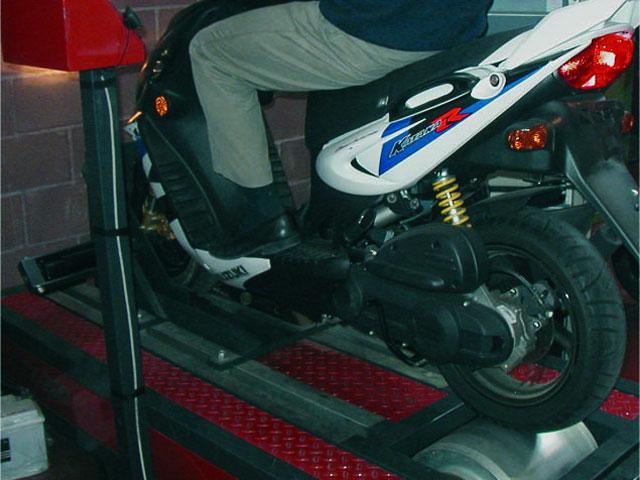La velocidad de los ciclomotores controlada en las ITV