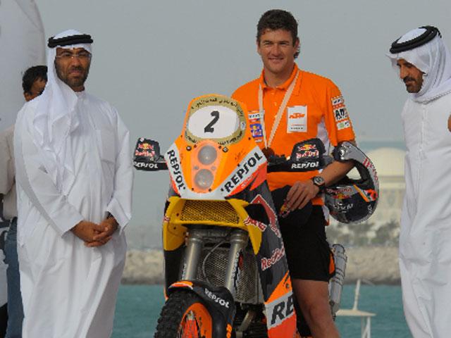 Marc Coma con KTM: Victoria final en la primera prueba del Mundial de Raids