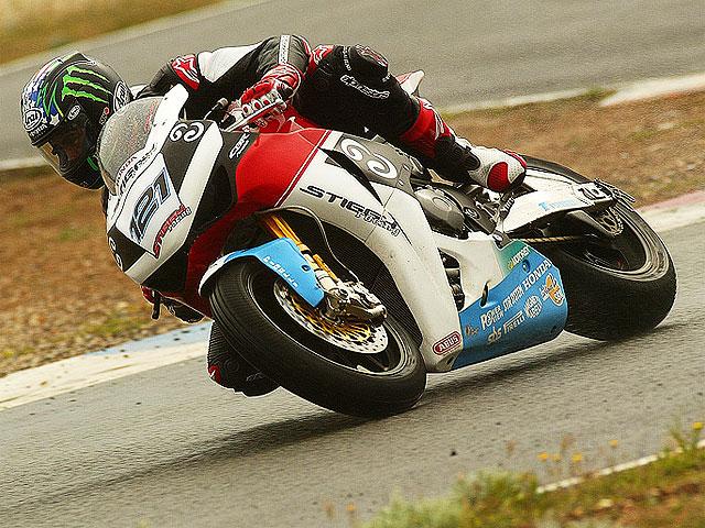 Hopkins debuta con Honda en Almería