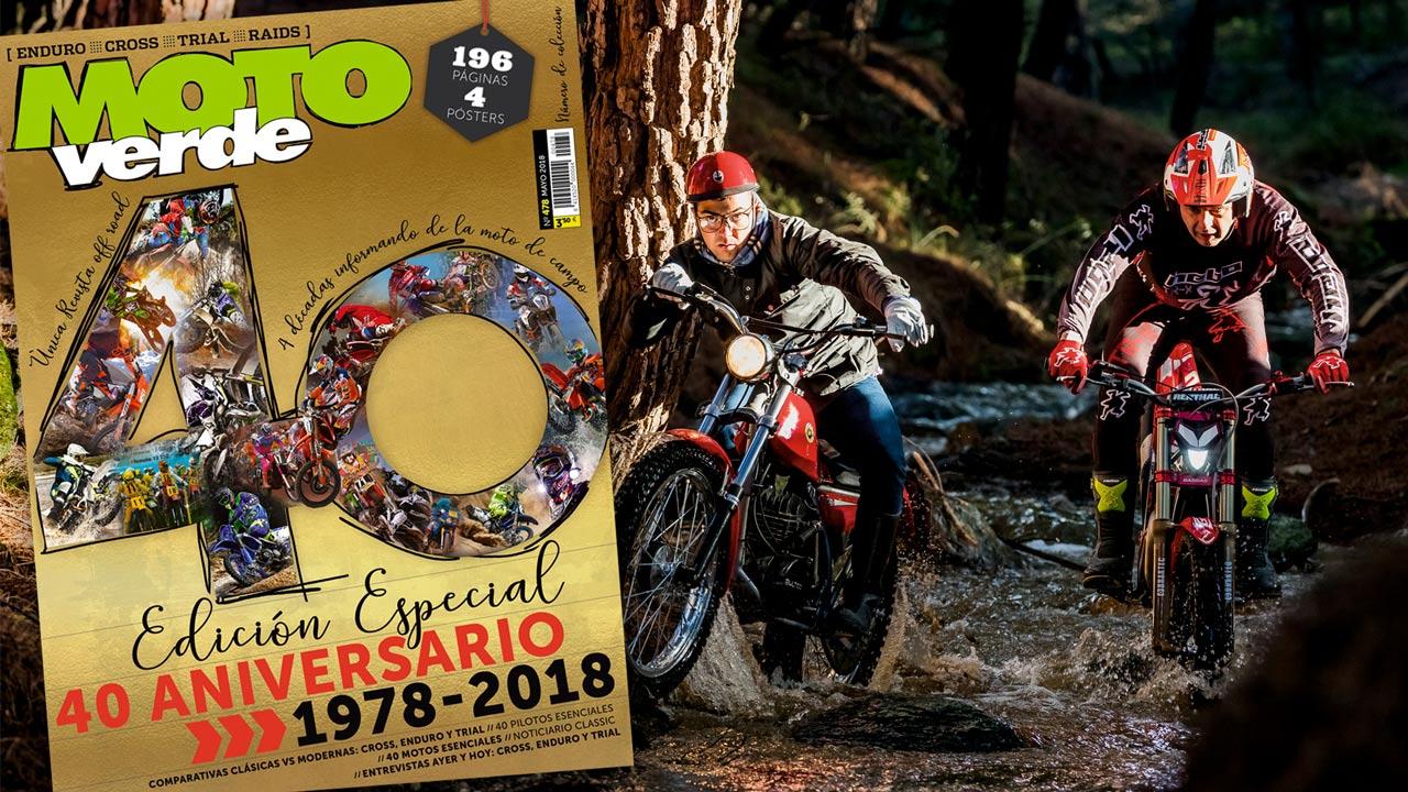Edición especial de la revista MOTO VERDE 40 Aniversario