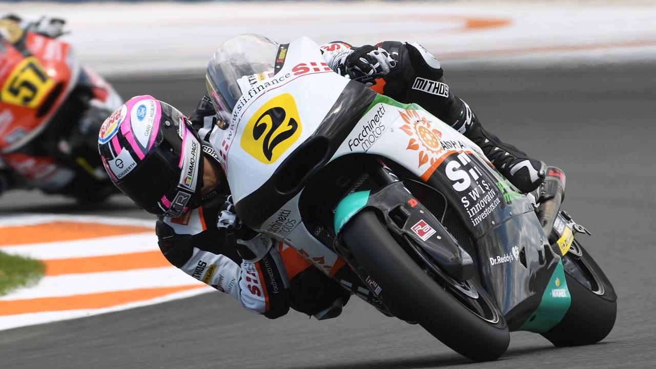 Jesko Raffin arrasa en Valencia y es más líder del Europeo de Moto2 2018