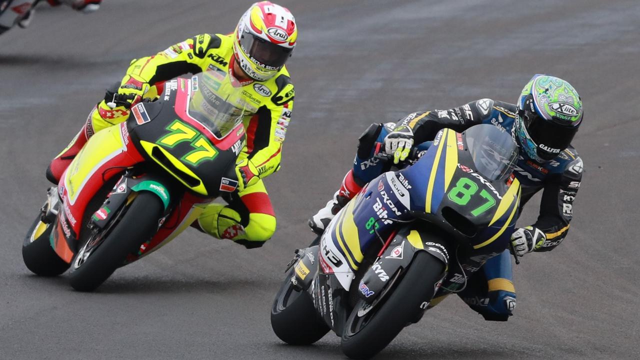 Remy Gardner y Dominique Aegerter se lesionan y no correrán en Jerez