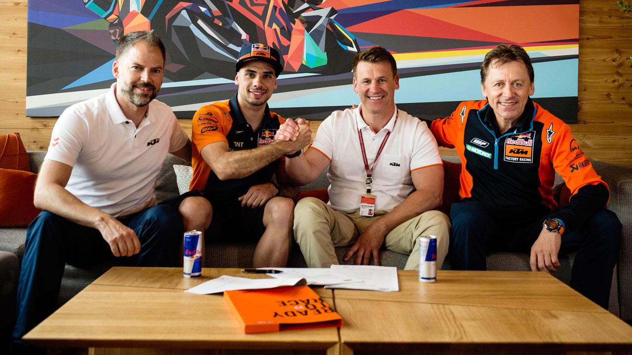 Miguel Oliveira correrá en MotoGP con KTM Tech3