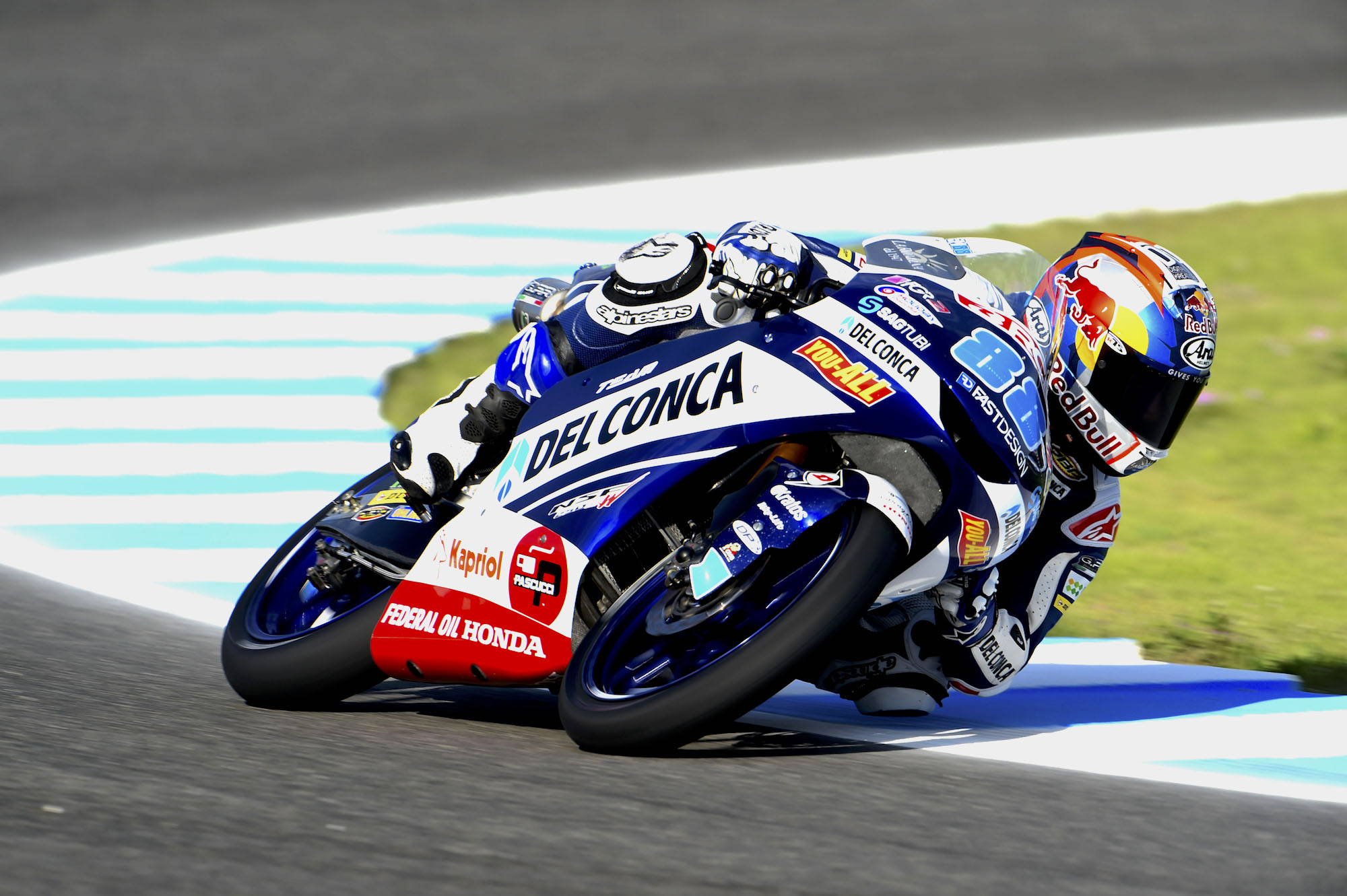 Jorge Martín, pole en Moto3 ante el público de Jerez