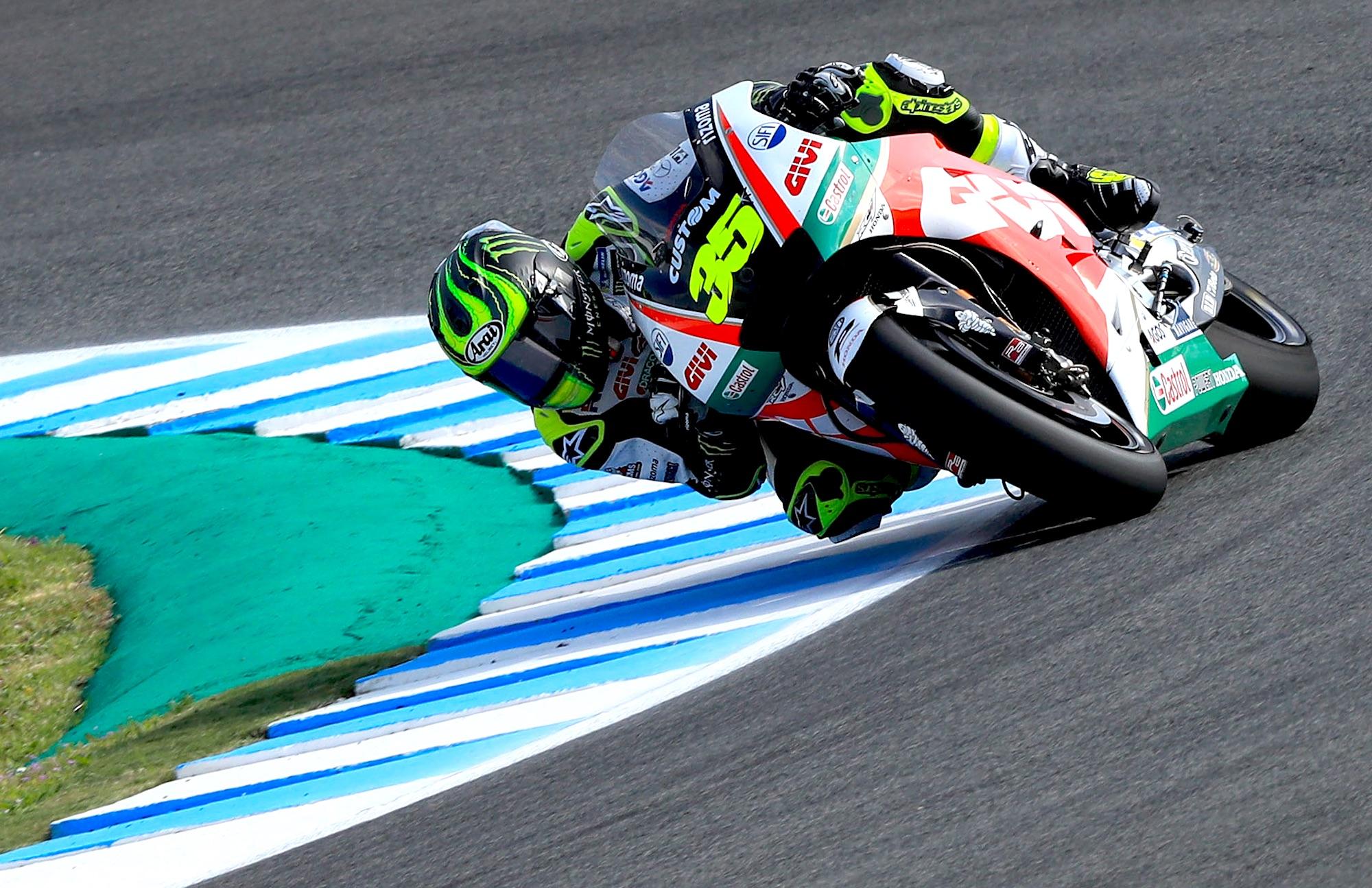 Cal Crutchlow fulmina el récord de Jerez en MotoGP