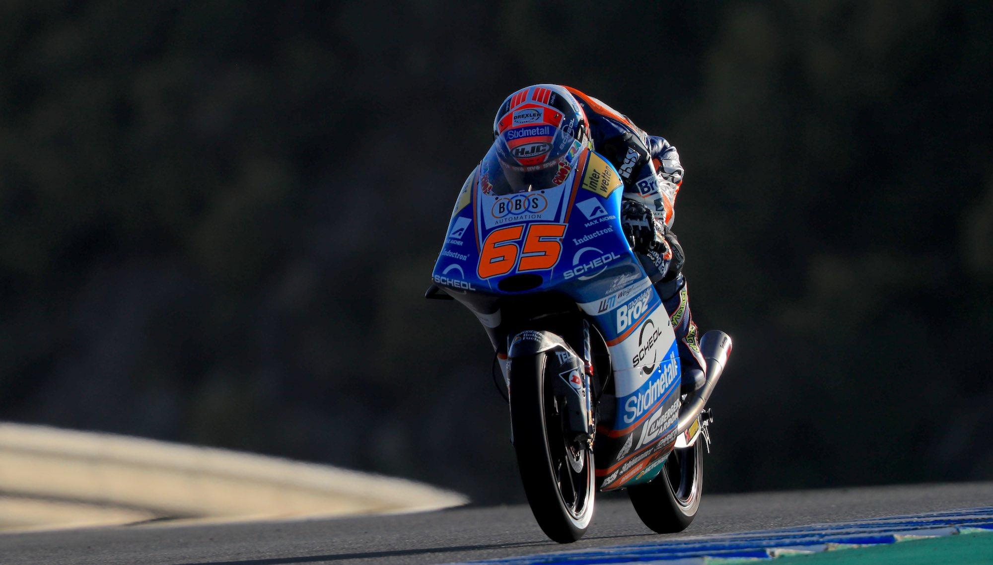 """Victoria de Philipp Öttl en Jerez marcada por un """"strike"""" en los últimas vueltas"""