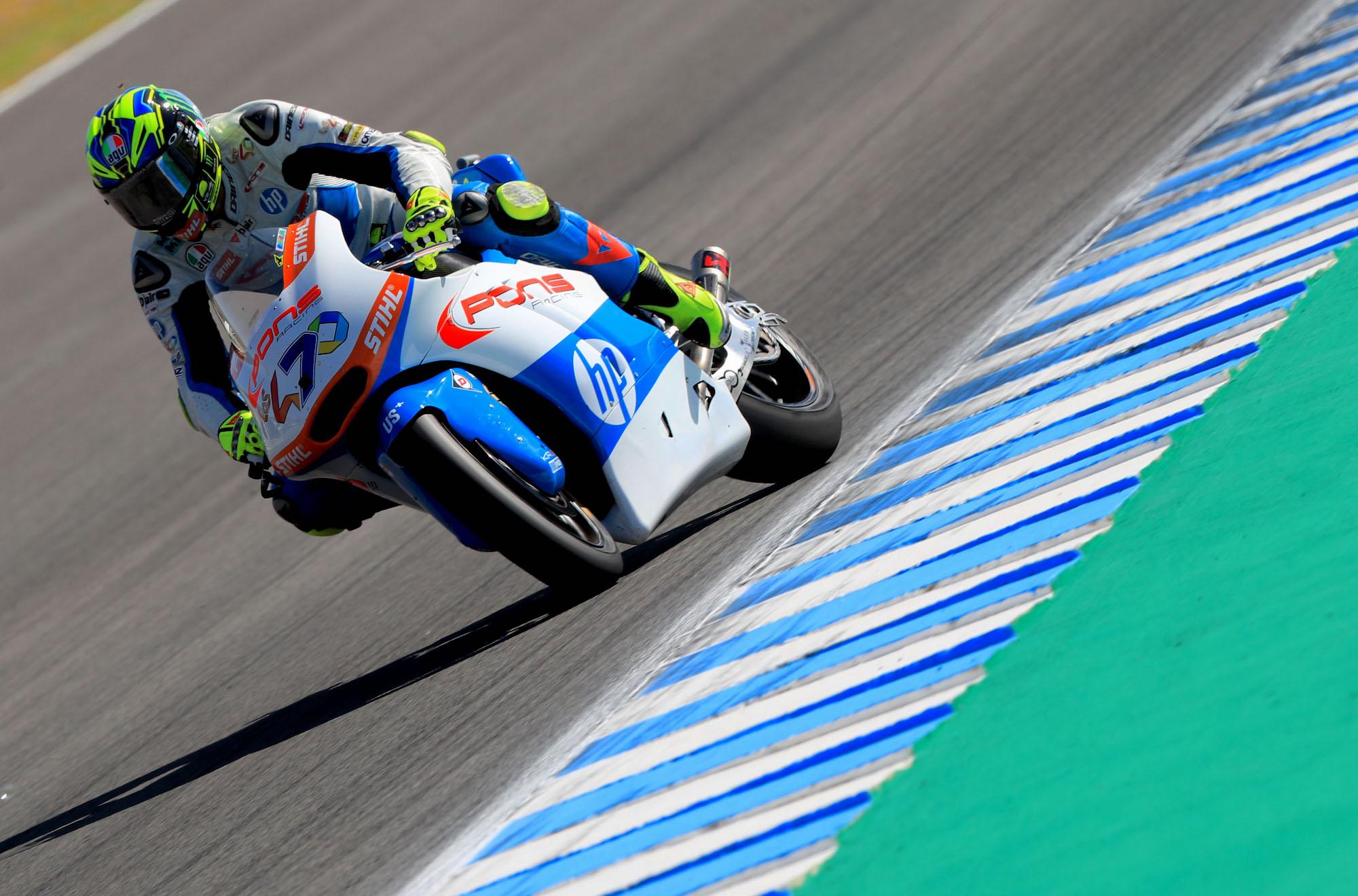 Lorenzo Baldassarri vuelve a saborear la victoria en Moto2, falló Álex Márquez