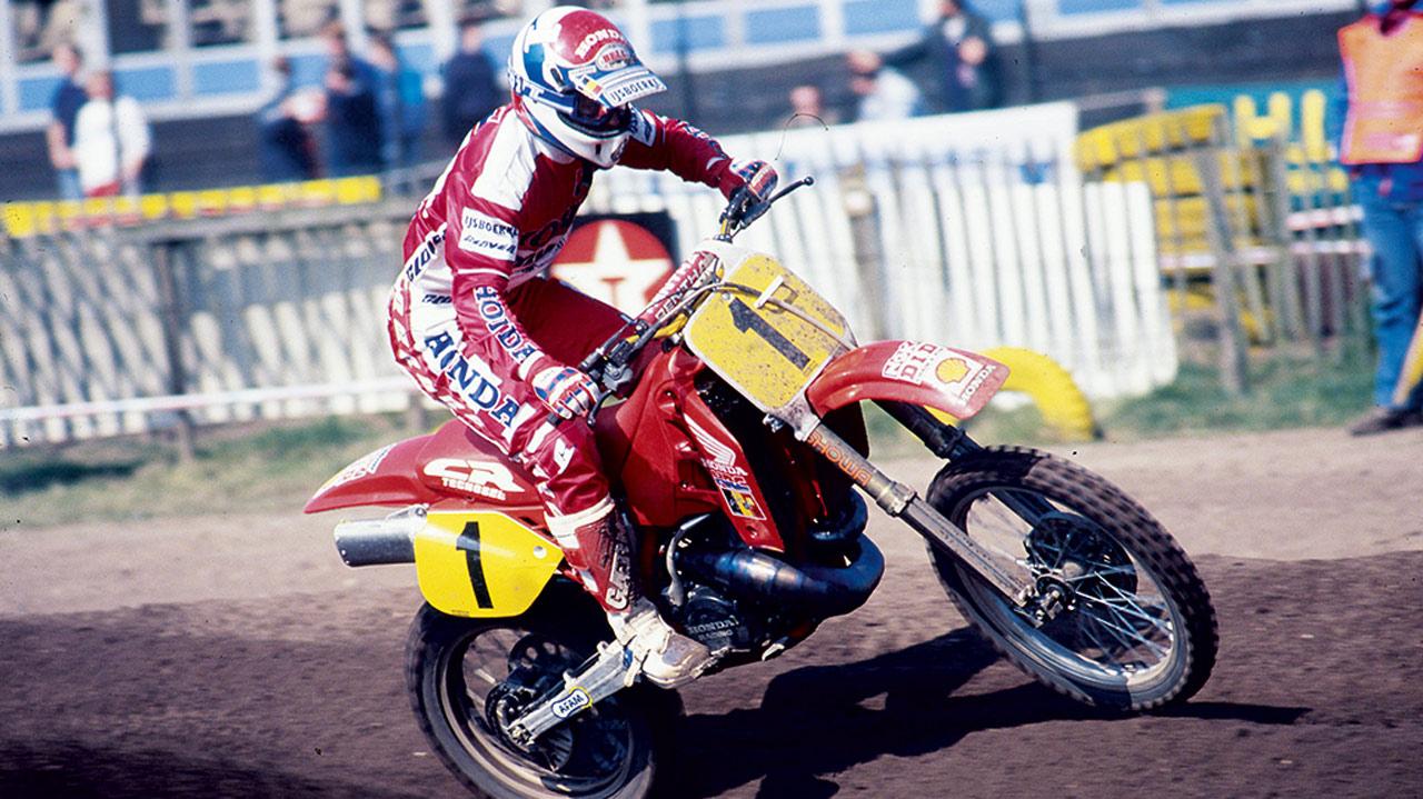 Fallece el excampeón del mundo de motocross Eric Geboers
