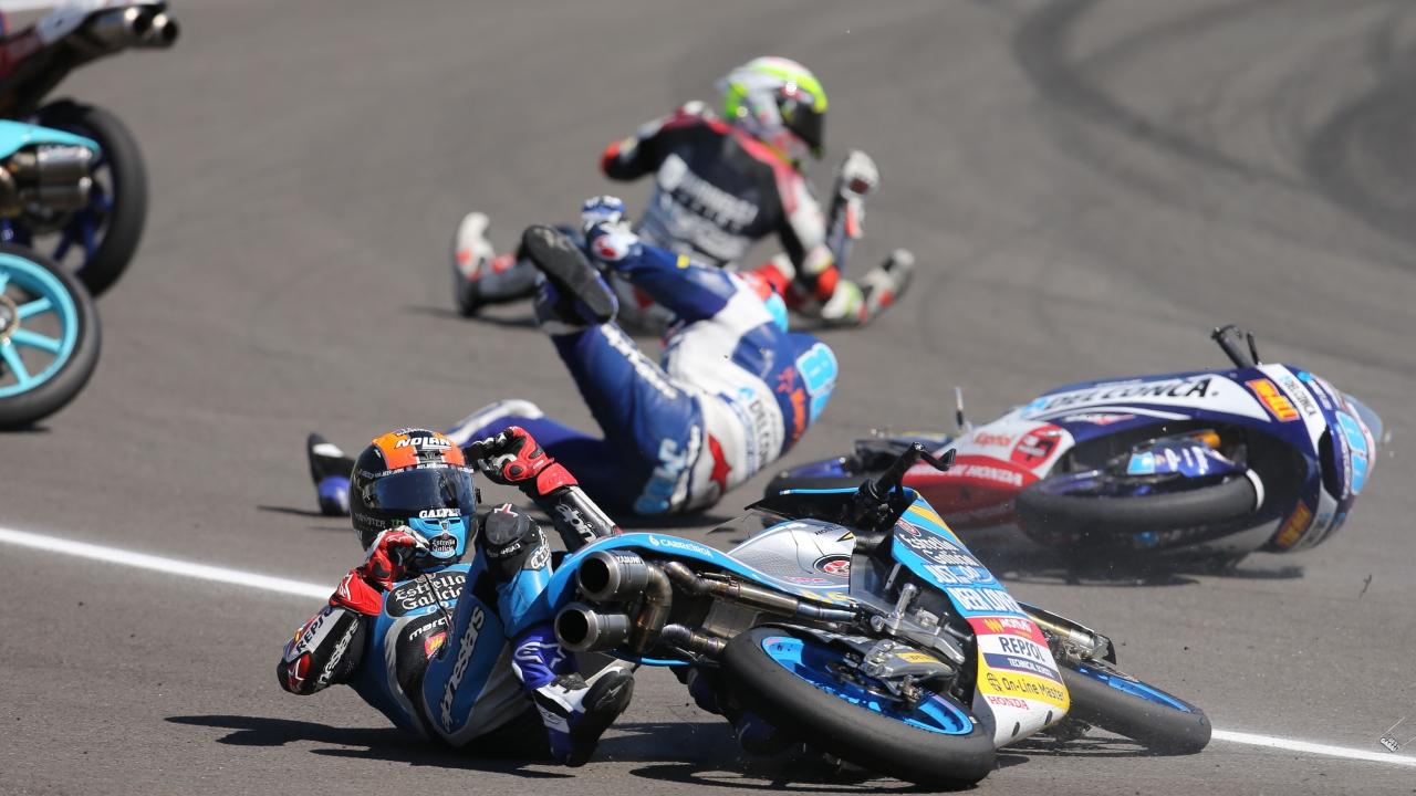 Arón Canet saldrá último en Le Mans y el incidente triple de MotoGP queda sin sanción