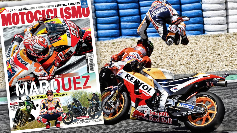 Entrevista con Marc Márquez en el último número de la revista MOTOCICLISMO