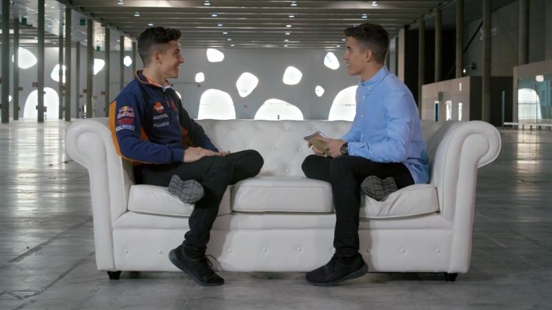Marc Márquez entrevista a Marc Márquez