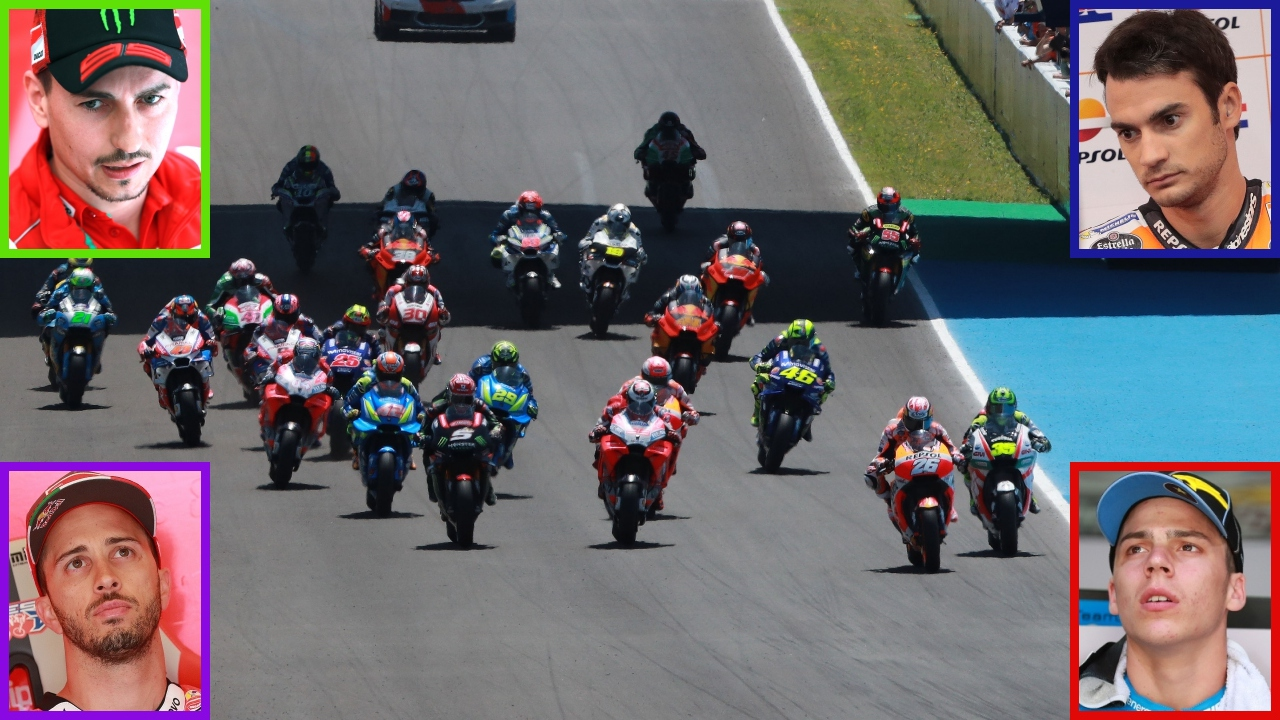 Las cuatro esquinas del puzle de MotoGP 2019