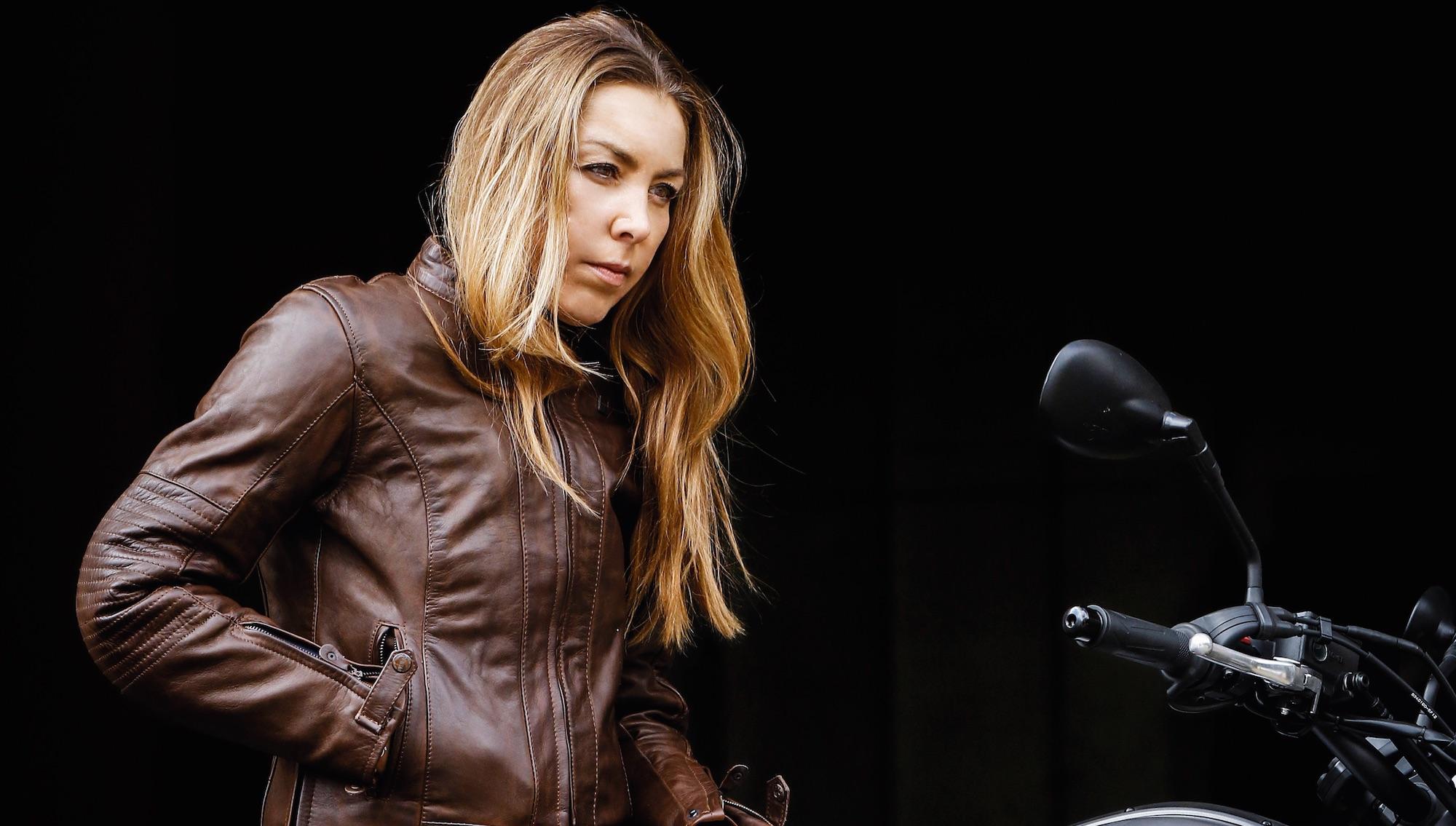 Chaquetas de moto femeninas, precios y características