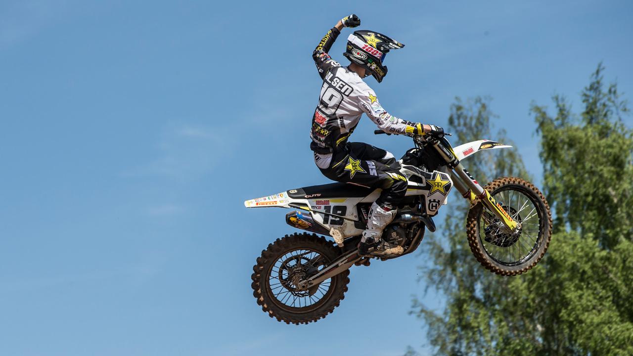 Triunfo de Thomas Kjer Olsen en el Gran Premio de MX2 de Letonia
