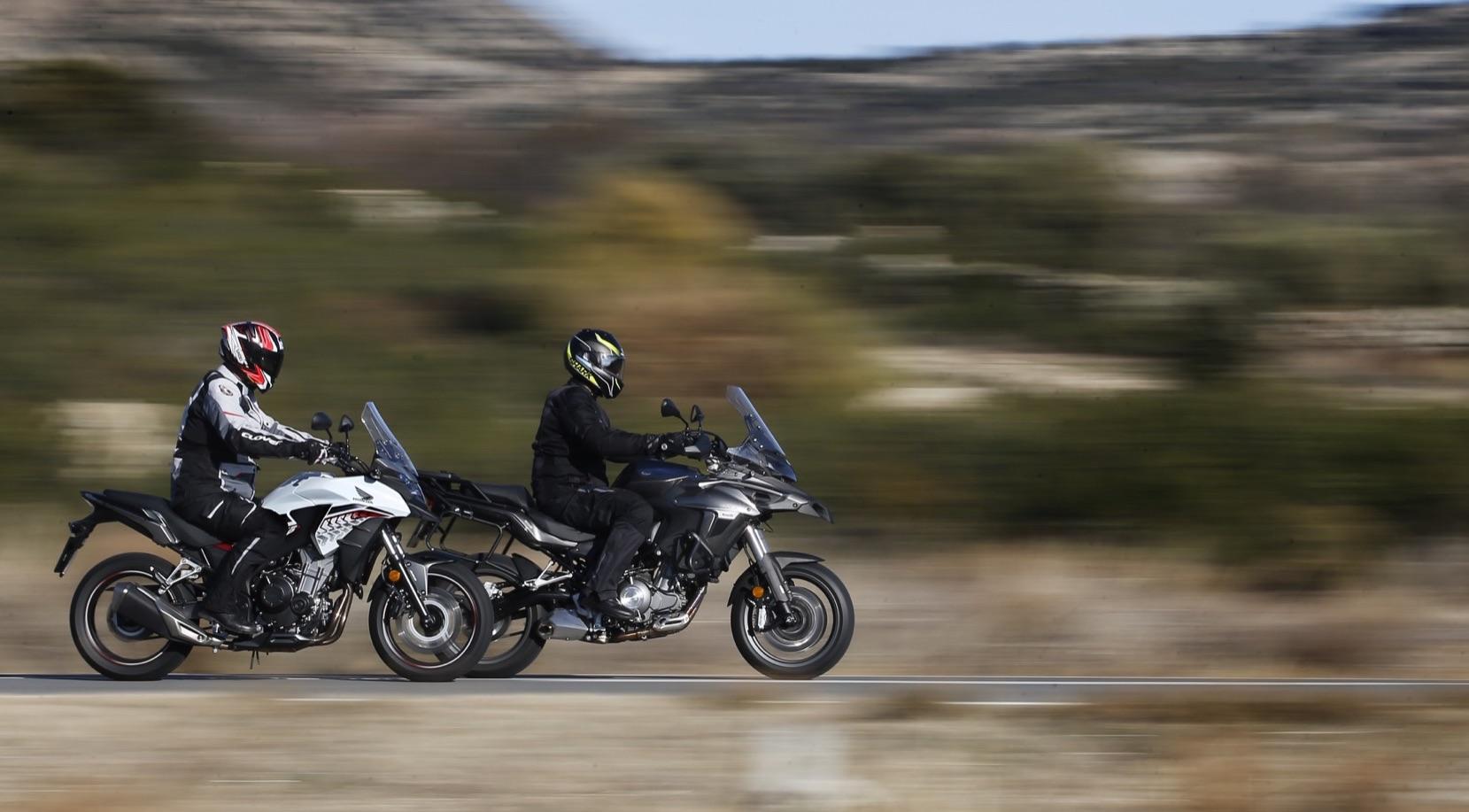Honda CB500X vs. Benelli TRK 502, comparativa trail para A2