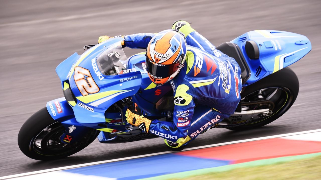 Álex Rins renueva con Suzuki hasta MotoGP 2020