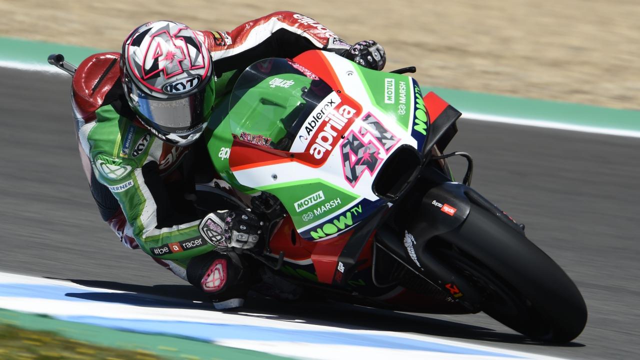 Aleix Espargaró renueva con Aprilia hasta MotoGP 2020