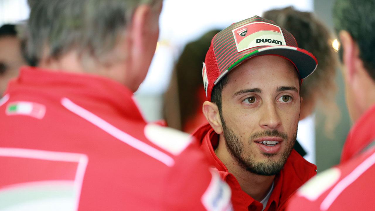 """Andrea Dovizioso: """"Solo faltan detalles para cerrar la renovación con Ducati"""""""