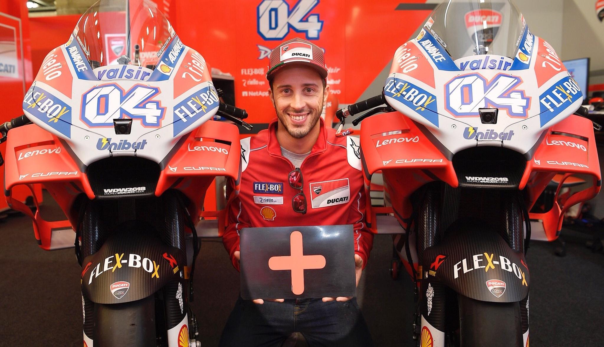 Andrea Dovizioso renueva con Ducati hasta MotoGP 2020