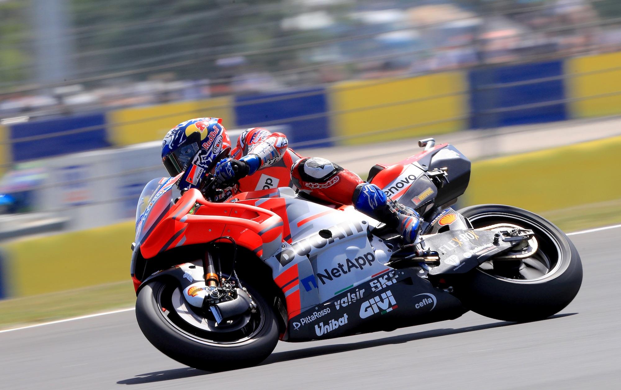 Con su nuevo contrato, Andrea Dovizioso marca el récord de MotoGP en Le Mans