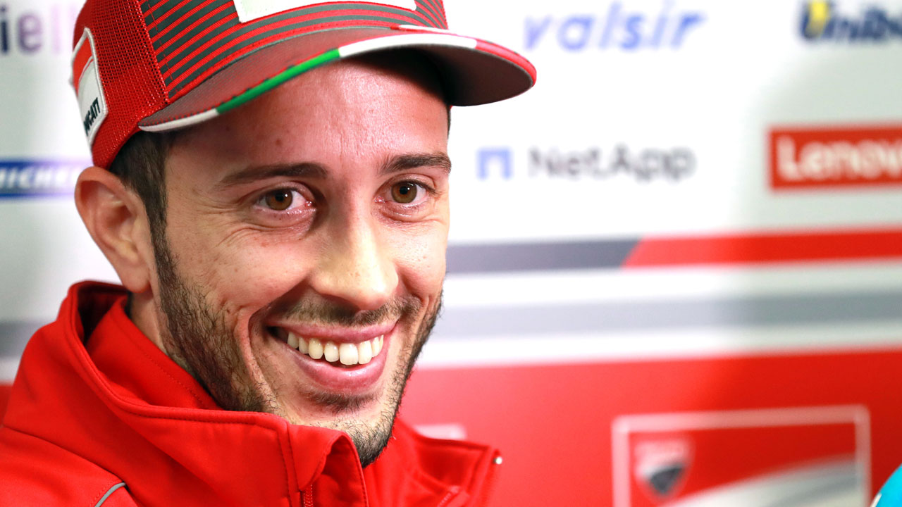 "Andrea Dovizioso: ""Parece que la segunda Ducati será para Petrucci o Miller"""