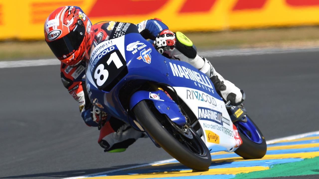Aleix Viu gana en Le Mans y Raúl Fernández es más líder del Mundial Junior de Moto3
