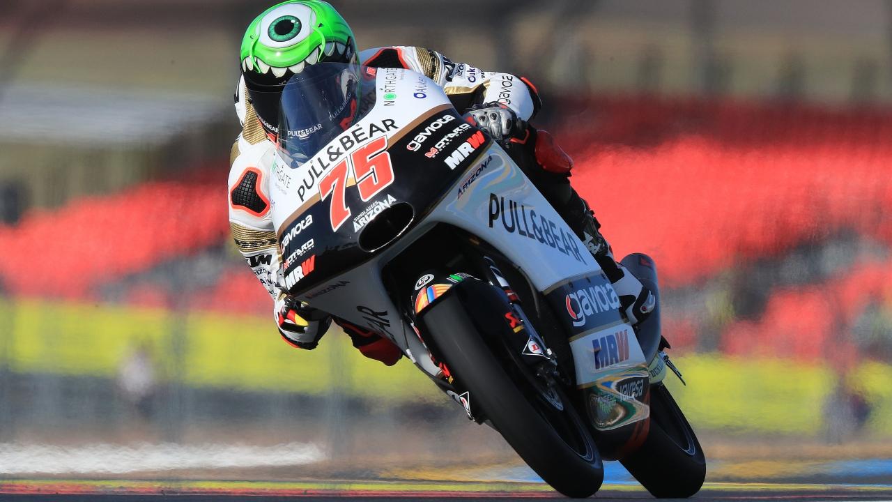 Albert Arenas se lleva el triunfo en Moto3 en el festival de sanciones de Le Mans