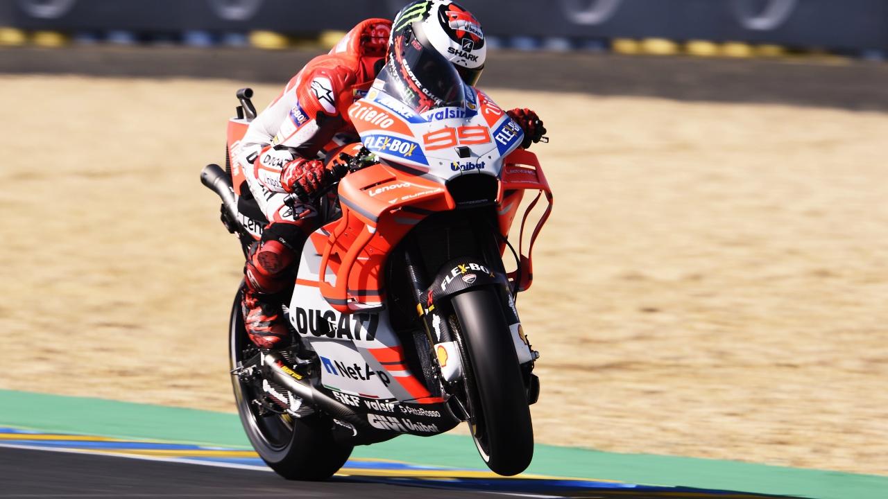 Jorge Lorenzo y Ducati: física o química