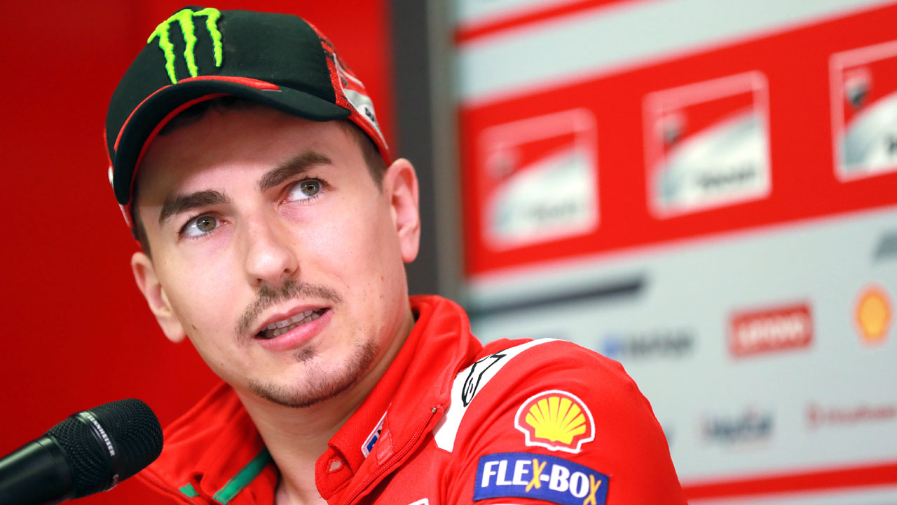 "Jorge Lorenzo: ""No soy un gran piloto, soy un campeón"""