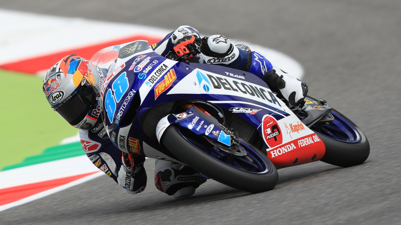 Jorge Martín empieza imponiendo su ley entre las Moto3 en Mugello