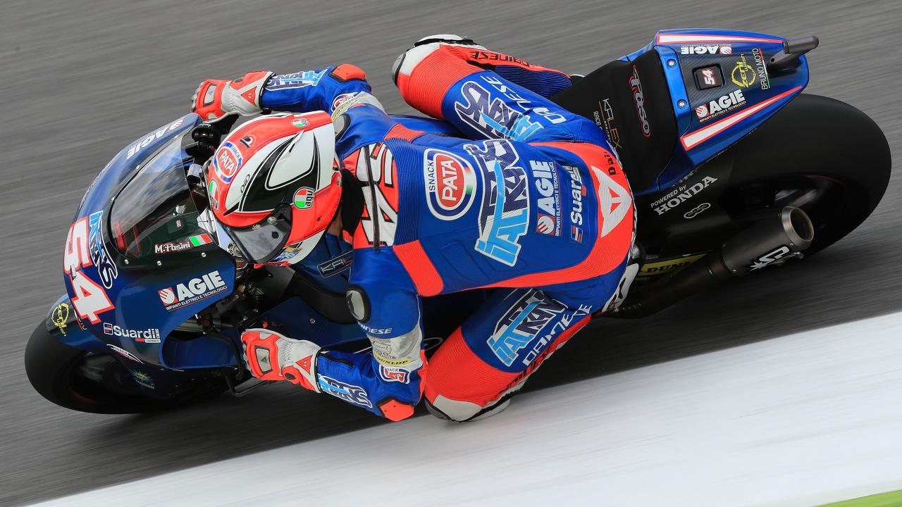 Mattia Pasini se queda con la pole de Moto2 en Mugello