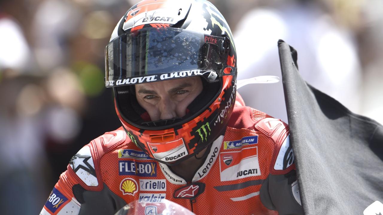 """Jorge Lorenzo confirma que no seguirá en Ducati en MotoGP 2019: """"Es demasiado tarde"""""""