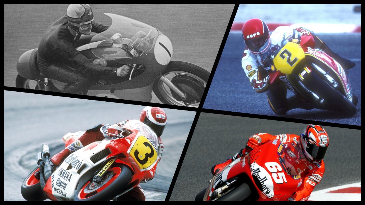 Los cuatro pilotos que han ganado con tres marcas en categoría reina