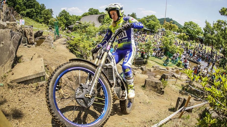 Emma Bristow debuta en el Mundial de Trial2 en Andorra