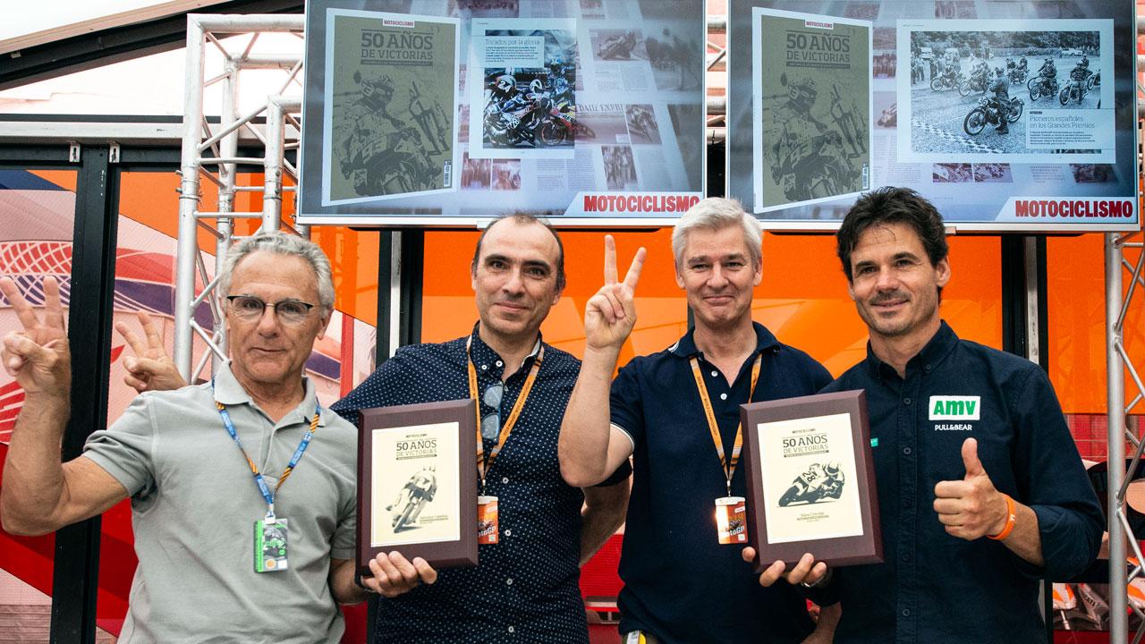 """Presentado el Especial """"50 años de victorias españolas"""" en el GP de Cataluña"""
