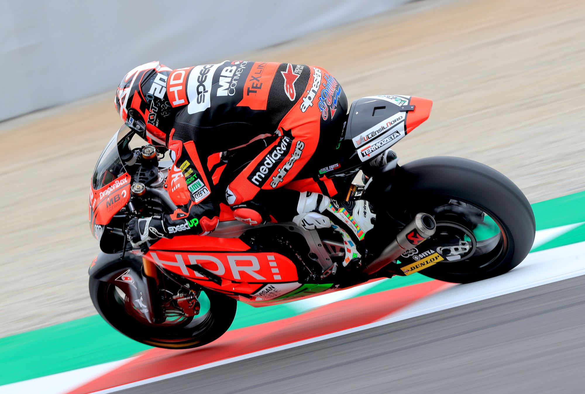 Fabio Quartararo alcanza su primera pole position en Moto2