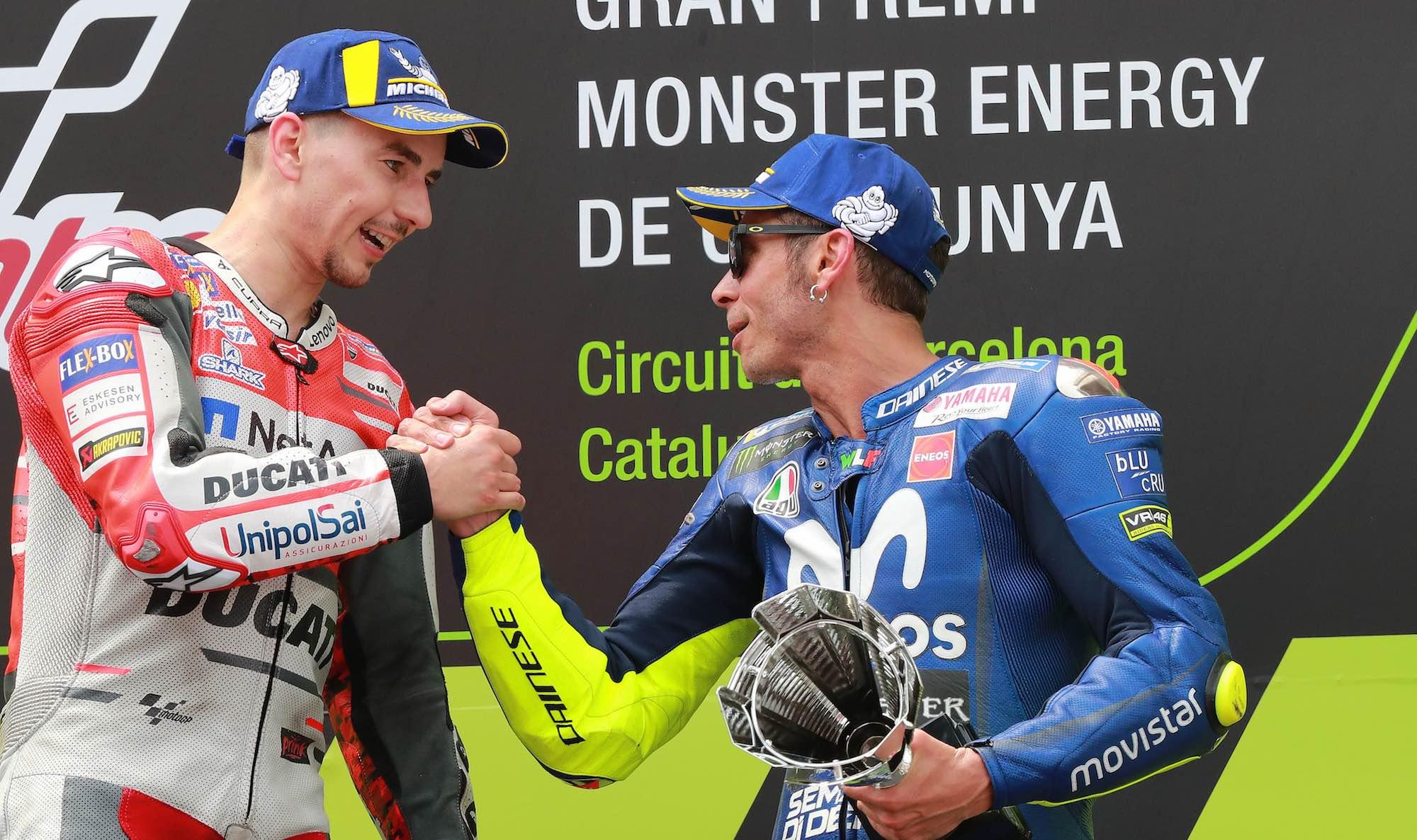 """Valentino Rossi: """"Es una noticia muy triste que Yamaha lleve un año sin ganar"""""""