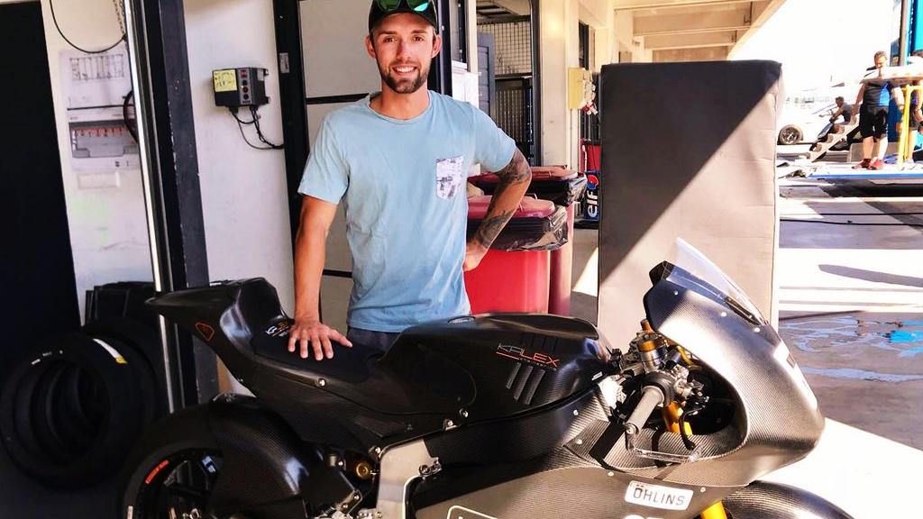 Jonas Folger vuelve para probar la Moto2 de Kalex con motor Triumph para 2019