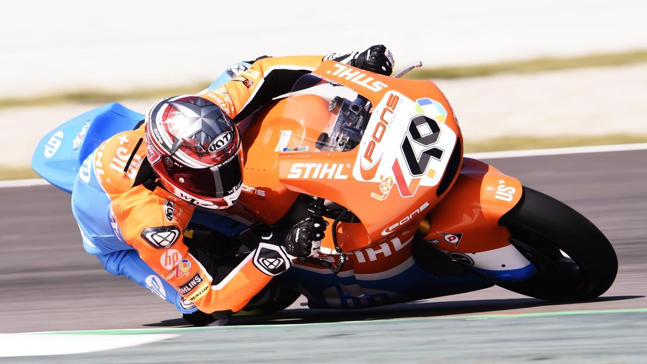 Augusto Fernández correrá el Mundial de Moto2 2018 hasta final de temporada