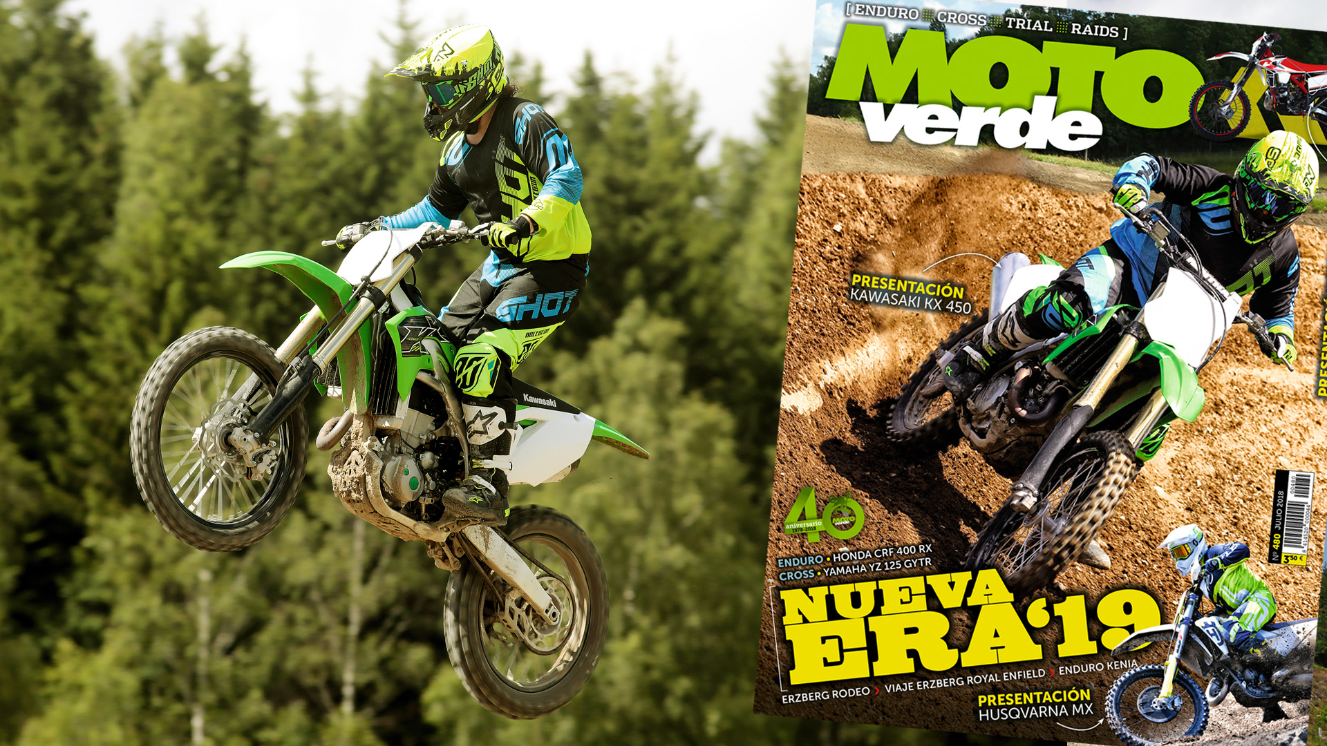 MOTO VERDE 480, contenidos y sumario de la revista