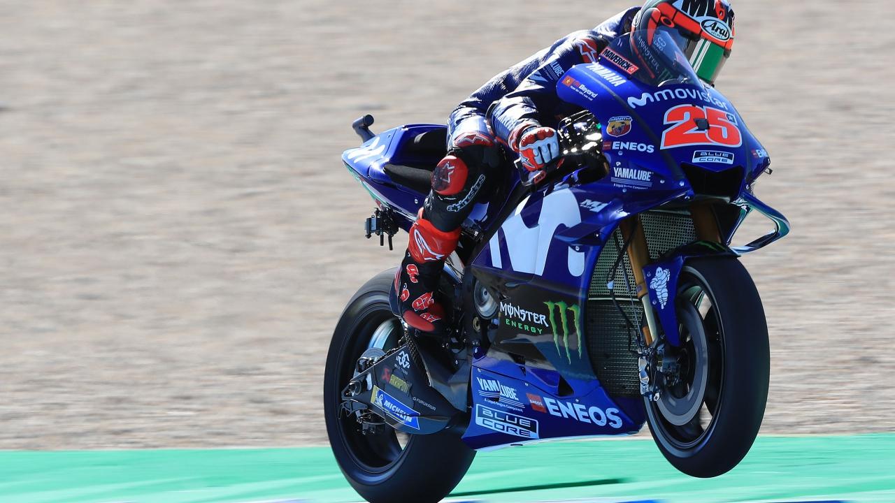 Maverick Viñales lidera el viernes en Assen y lleva el optimismo a Yamaha